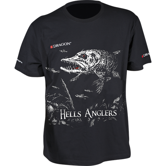 Dragon Hells Anglers gädda T-shirt