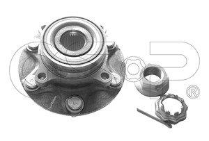 Hjullagersats, Bakaxel höger, Bakaxel vänster, framaxel höger, framaxel vänster