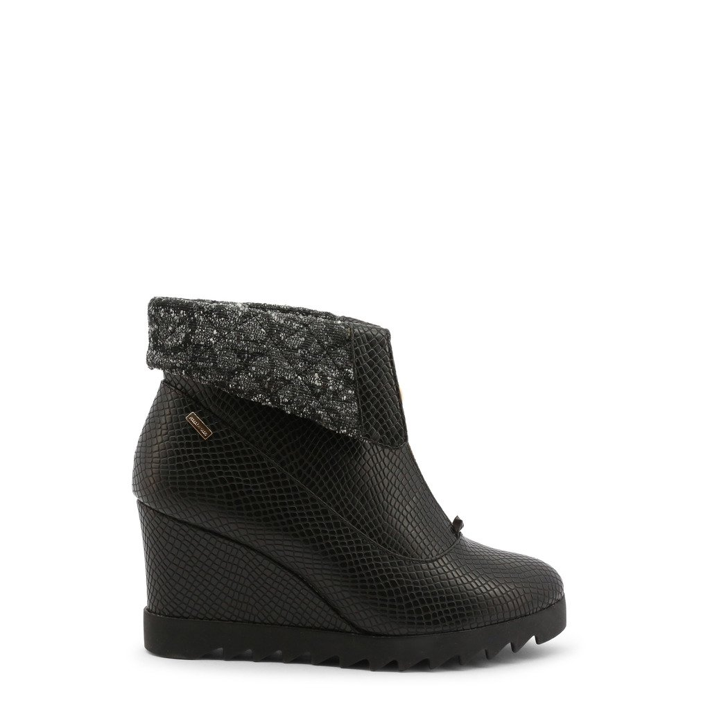Roccobarocco Women's Ankle Boots Black 342875 - black EU 36
