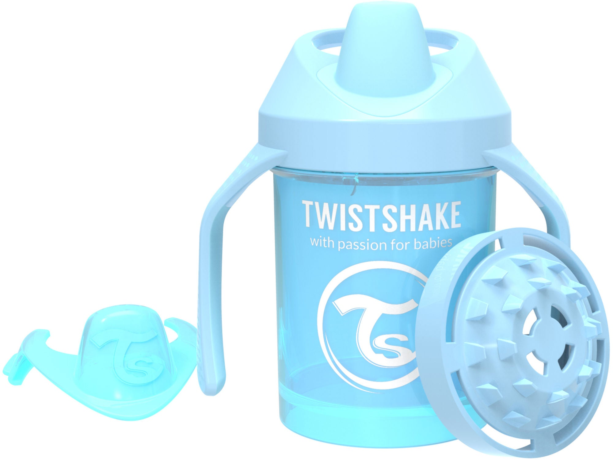 Twistshake Mini Cup Pipmugg 230ml, Pastellblå