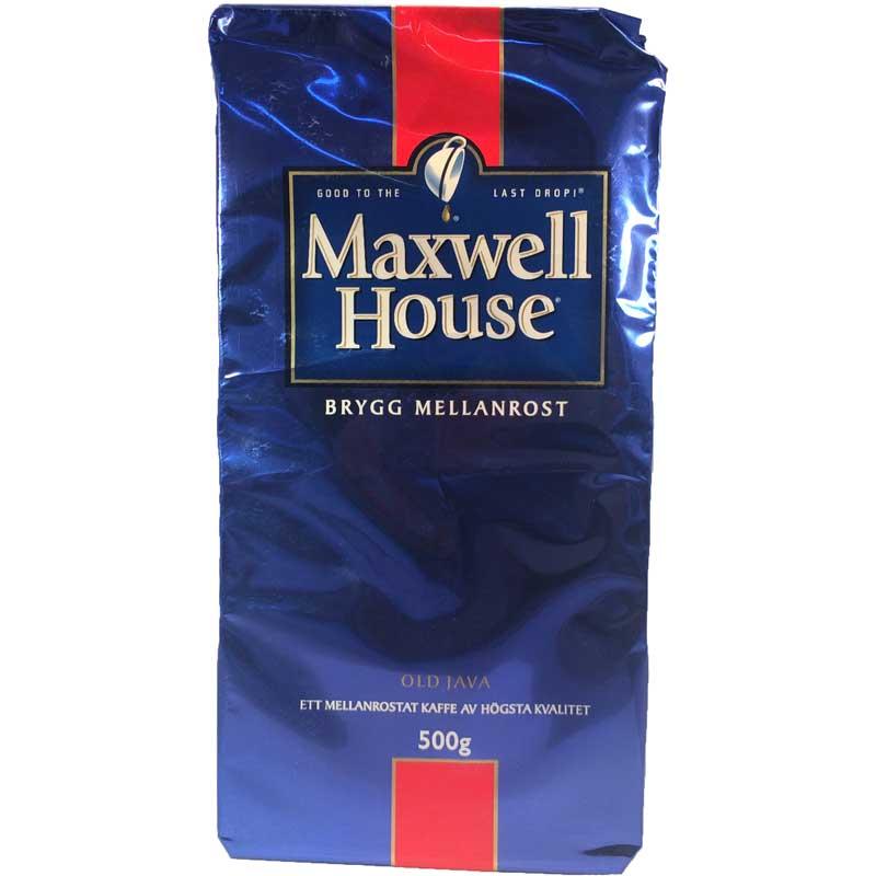 Bryggkaffe Mellanrost Maxwell - 49% rabatt