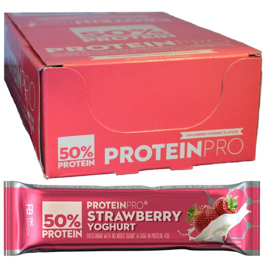 Proteiinipatukat Strawberry & Yoghurt 24kpl - 73% alennus