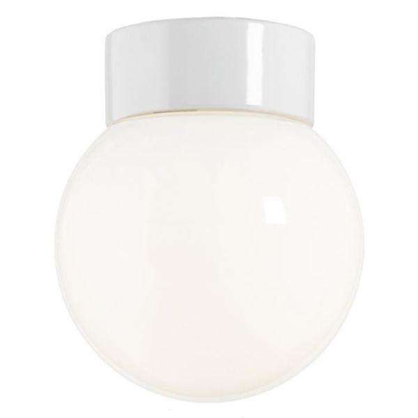 Ifö Electric 6012-840-10 Kattovalaisin kiiltävä, valkoinen, suora, IP20, LED