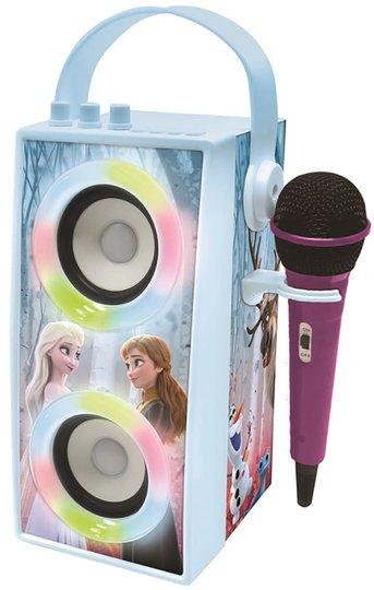 Disney Frozen Trådløs Høyttaler Med Mikrofon og Lys
