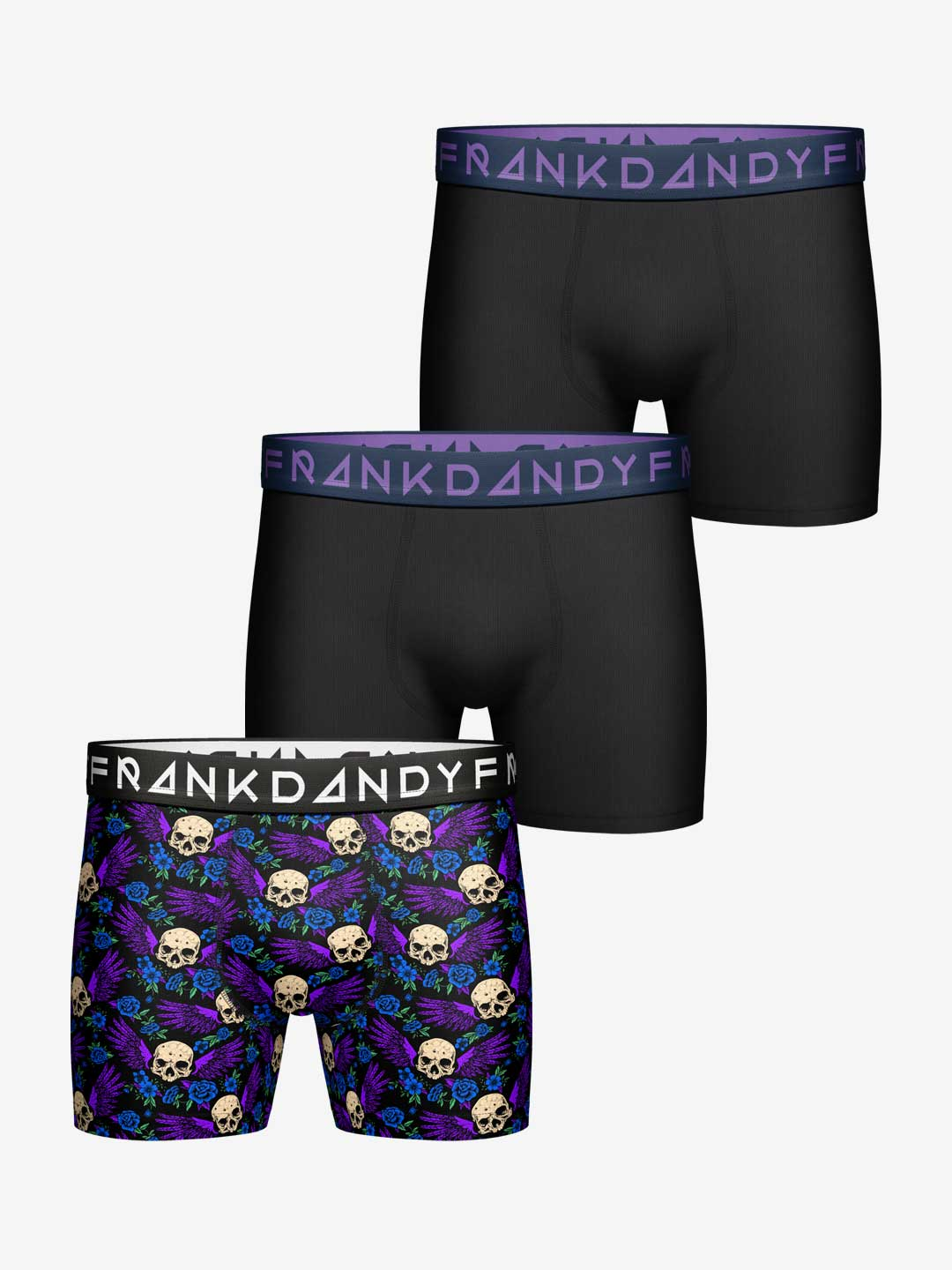 Frank Dandy 3-Pack Sculls & Wings Boxer
