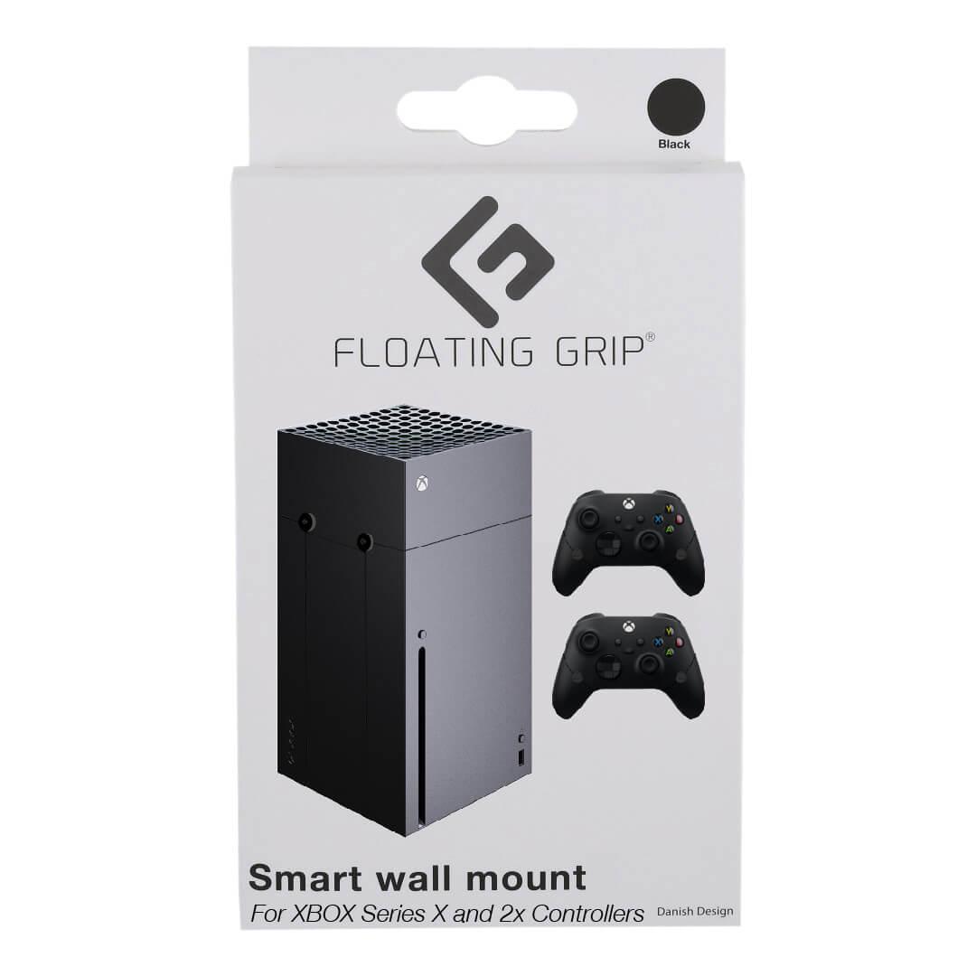 Floating Grip Xbox Series X wall mount Bundle Black