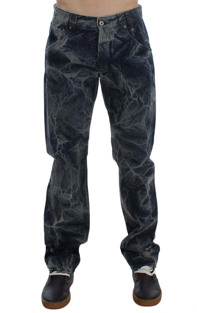 Exte Men's Wash Cotton Regular Fit Jeans Blue SIG30520 - W34
