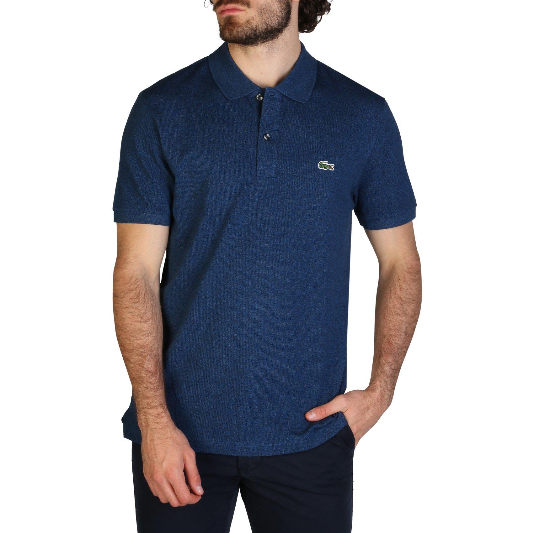 Lacoste Men's Polo Shirt Various Colours PH4012_SLIM - blue-3 S