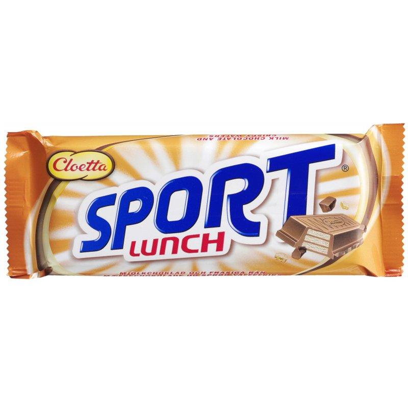 """Mjölkchoklad """"Sportlunch"""" 80g - 41% rabatt"""