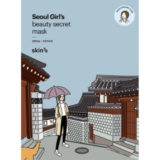 Seoul Girls Beauty Secret Moisturizing Mask, Skin79 K-Beauty