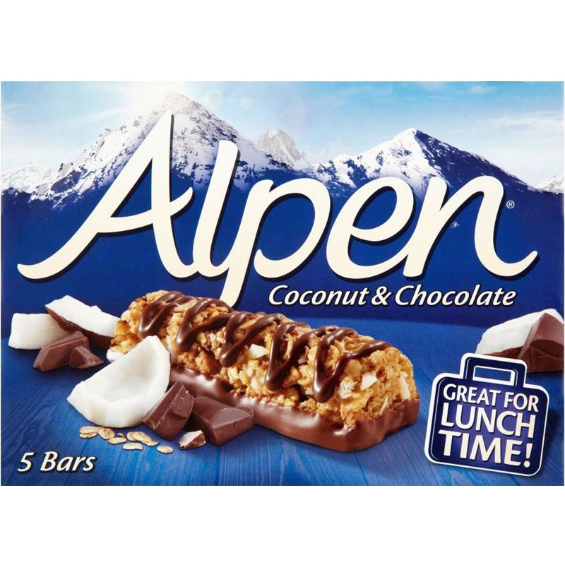 "Bars ""Coconut & Chocolate"" 145g - 34% rabatt"