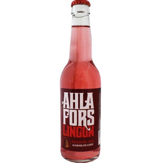 Ahlafors Lingon -Alkoholfri cider 330ml - 28% rabatt