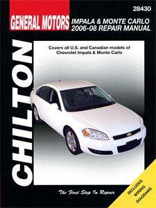 Haynes Reparationshandbok, Chevrolet Impala & Monte Carlo, Universal