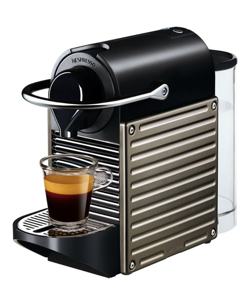 Nespresso Pixie Electric Kapselmaskin - Titanium