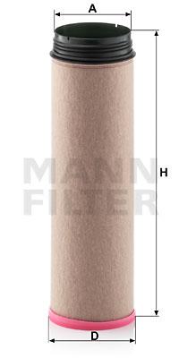 Toisioilmasuodatin MANN-FILTER CF 710