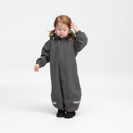 Skalldress til baby grå