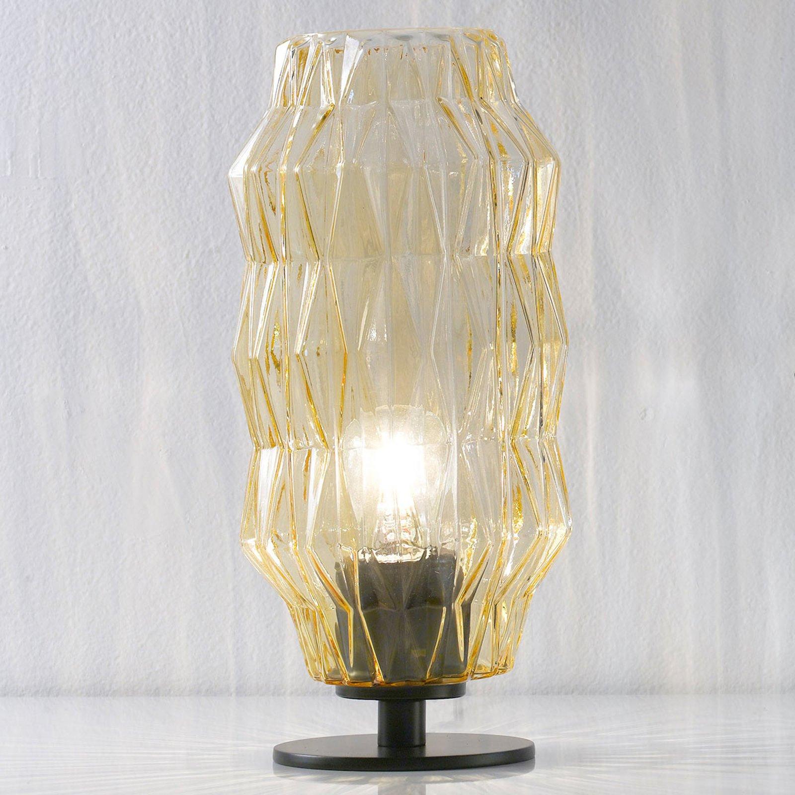Origami bordlampe, rav