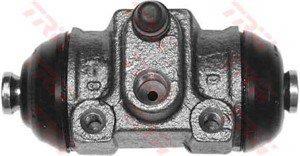 Hjulcylinder, Bakaxel, Bakaxel, båda sidor, Tvåsidig, Höger, Vänster
