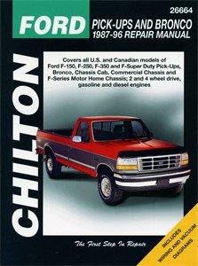 Haynes Reparationshandbok, Ford Pick-ups & Bronco, Universal