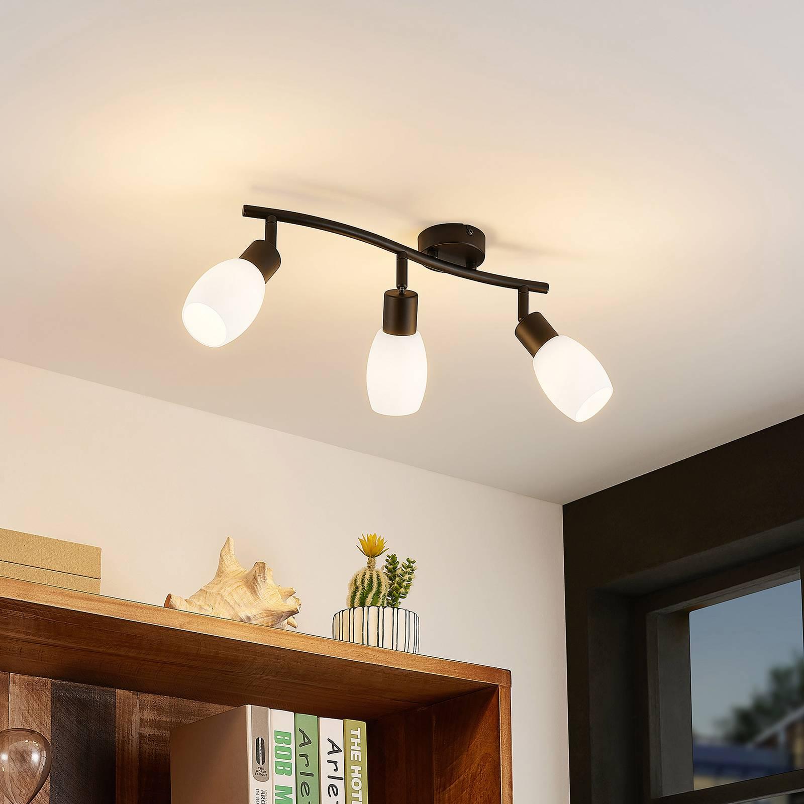 Lindby Ilmana -kattokohdevalo, 3-lamppuinen