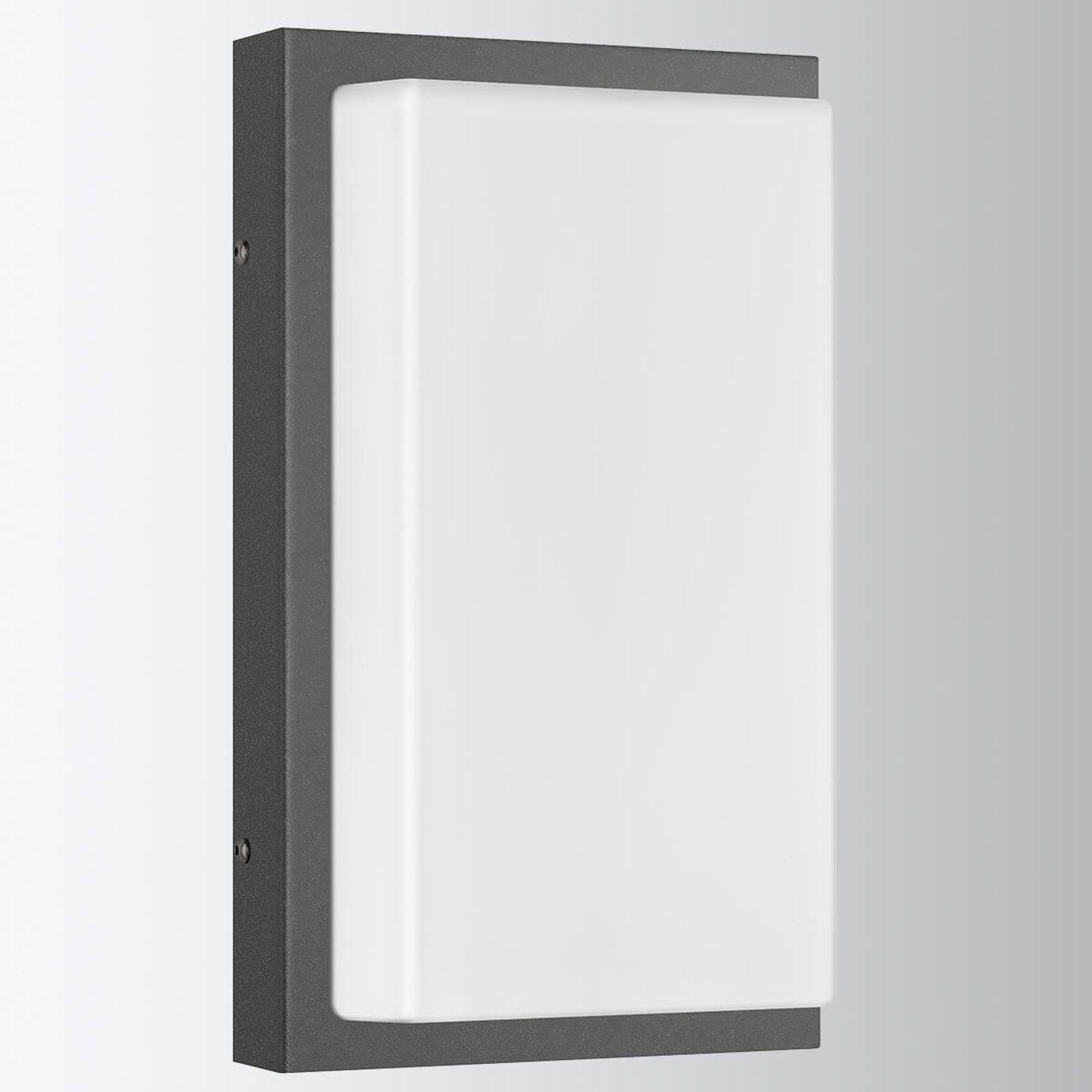 Babette varmhvit lysende utendørs LED vegglampe