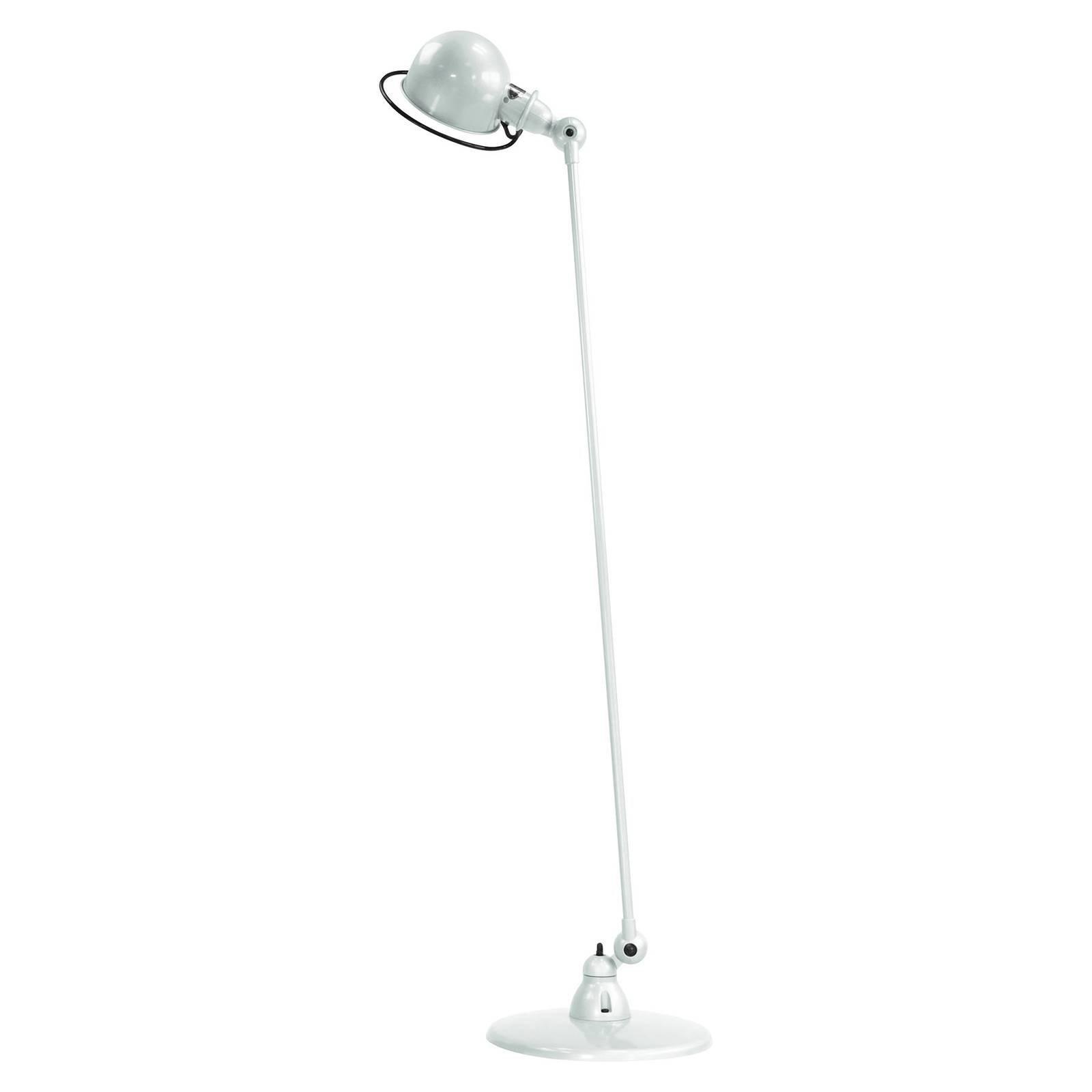 Jieldé Loft D1200 gulvlampe, justerbar, hvit