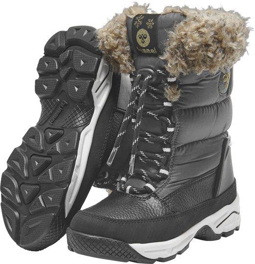 Hummel Snow Boot Jr Vinterstøvel, Asphalt 26