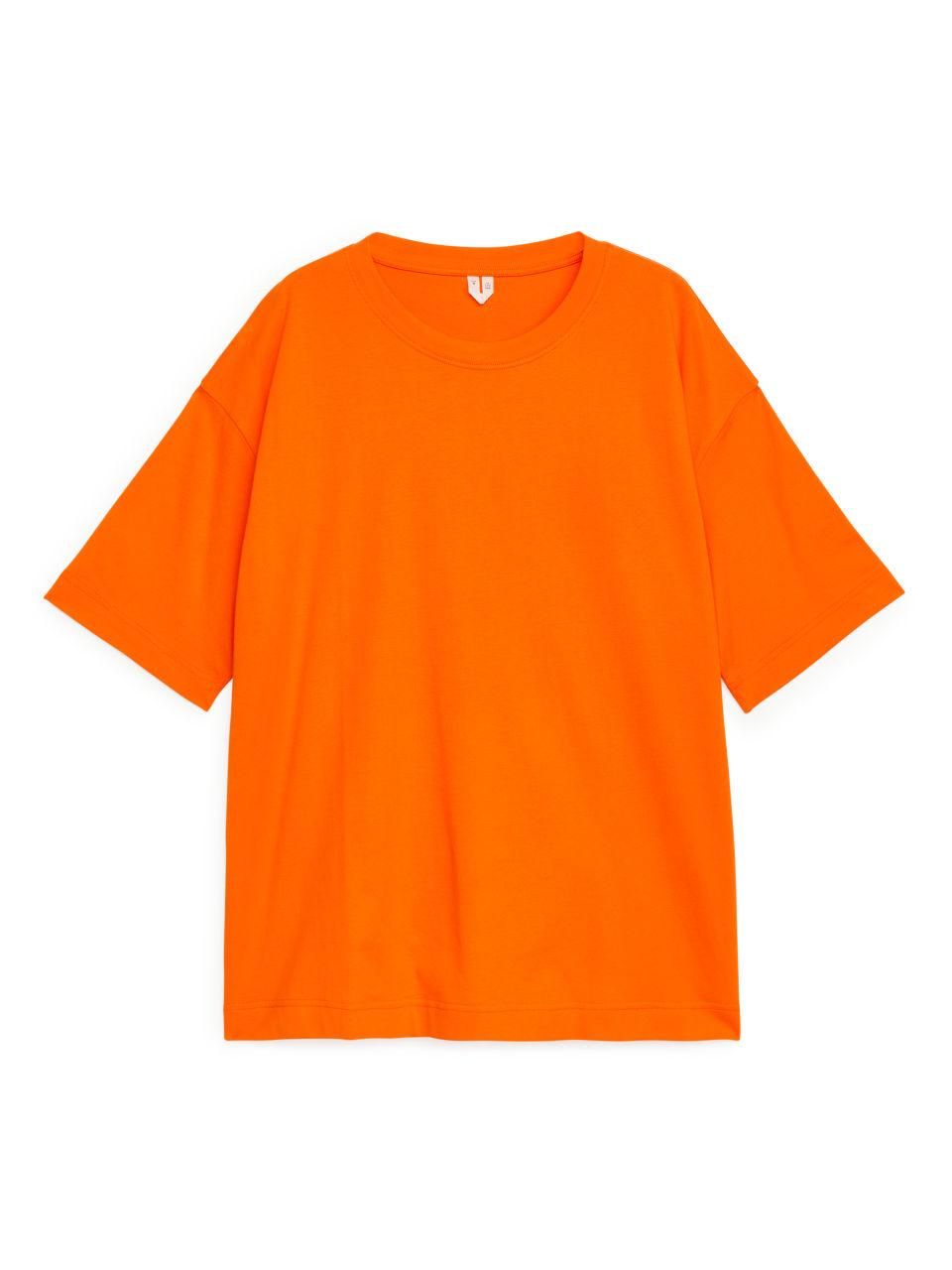 Oversized T-Shirt - Orange
