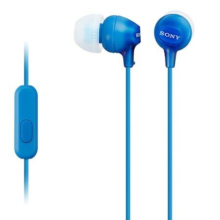 Øvrige Headset in-ear MDR-EX15AP Blå