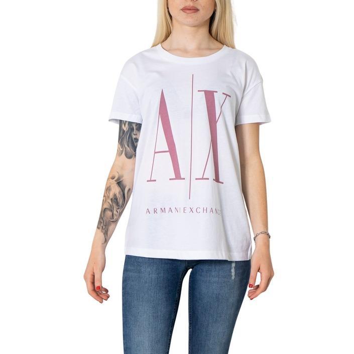 Armani Exchange Women's T-Shirt White 273114 - white XS