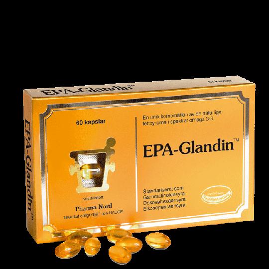 EPA Glandin med Omega 3, 60 kapslar