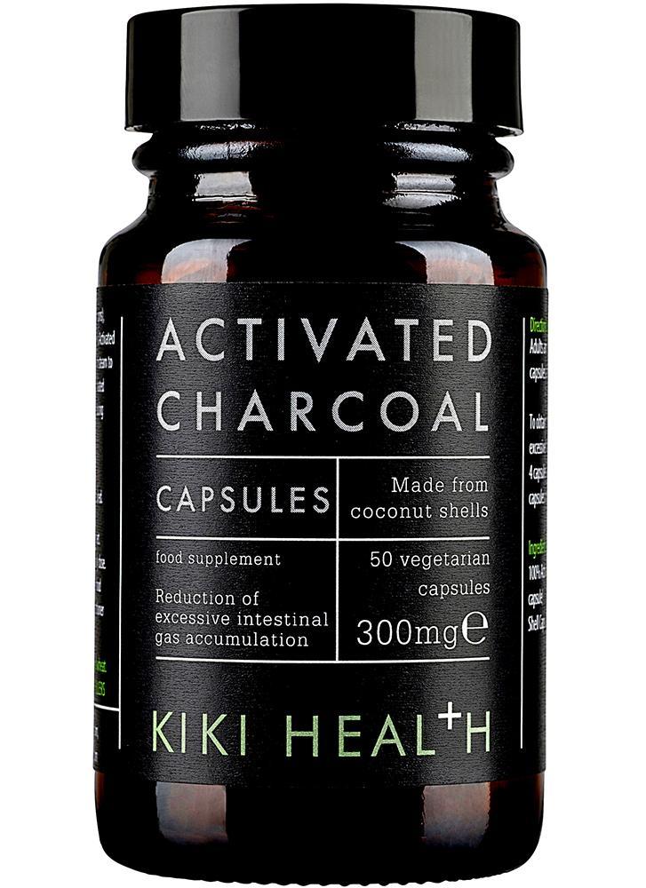 KIKI Health Activated Charcoal Vegicaps