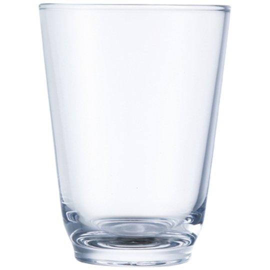 Kinto HIBI-vattenglas (350 ml), klart/genomskinligt