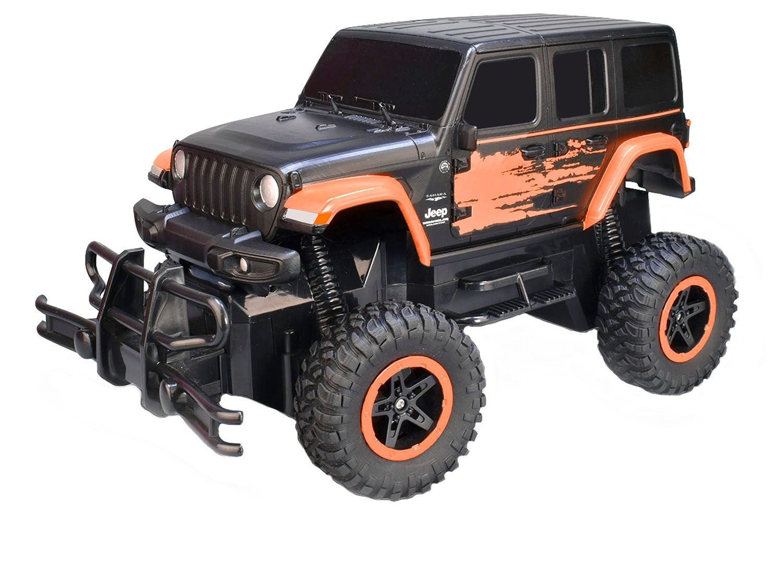 Taiyo Jeep Wrangler Radiostyrd Bil 1:16 Sahara Unlimited