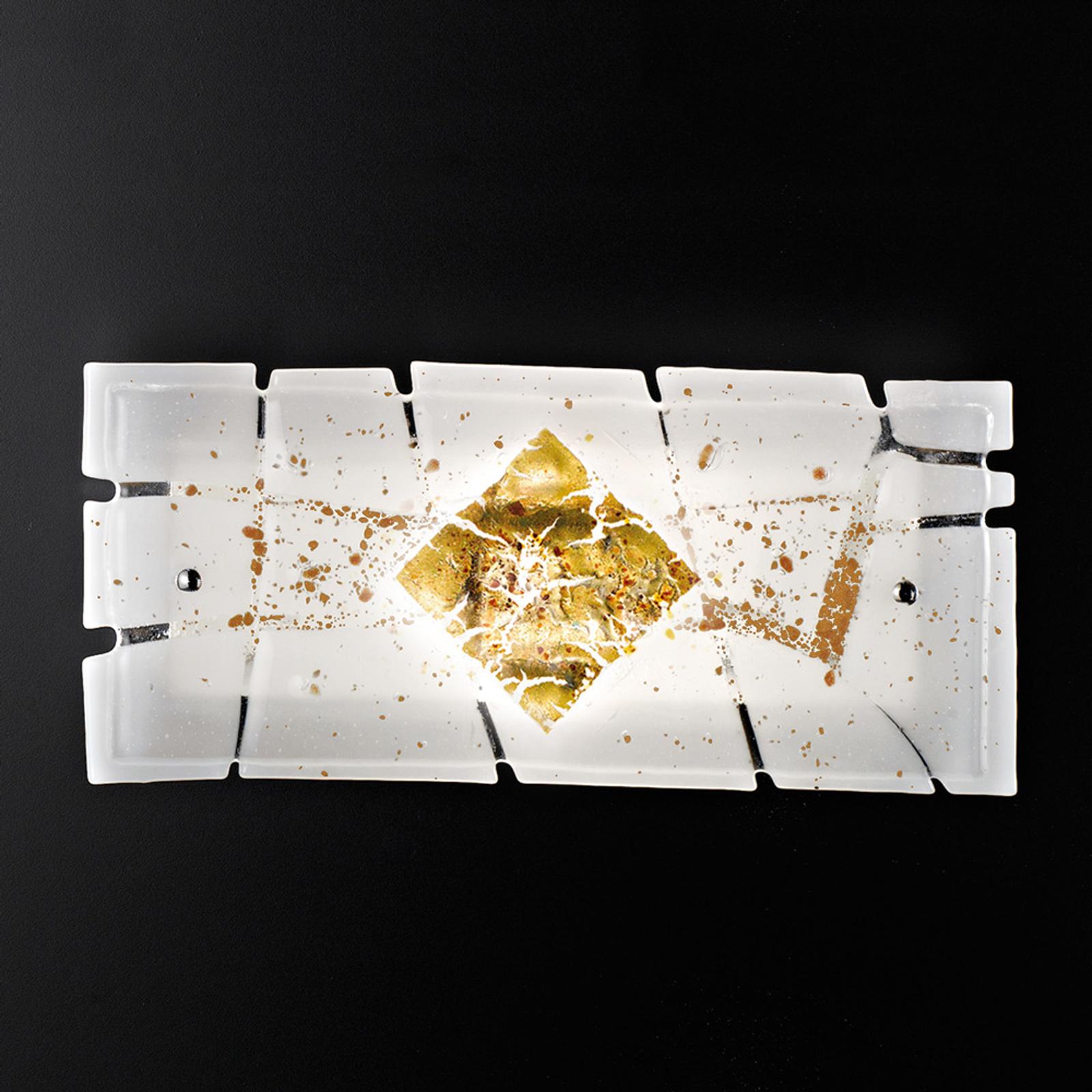 35 cm leveä Frame-seinävalaisin
