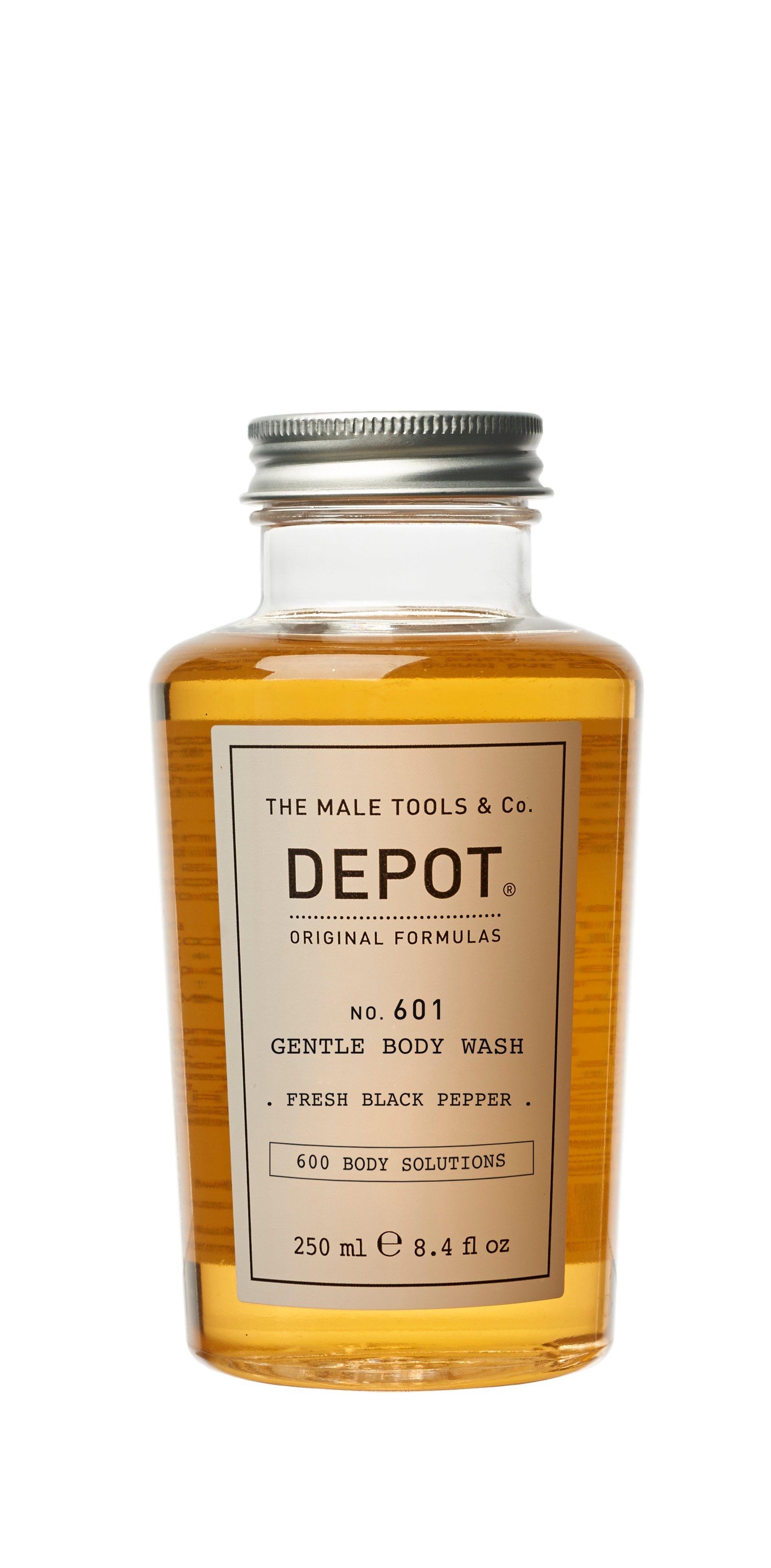 Depot - No. 601 Gentle Body Wash Black Pepper 250 ml