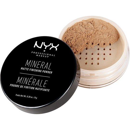 Mineral Matte Finishing Powder, 8 g NYX Professional Makeup Puuteri