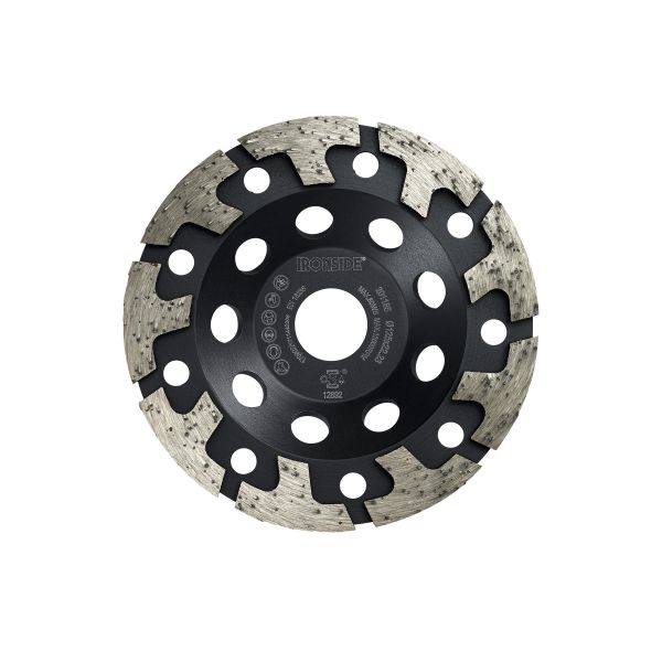 Ironside 201185 Diamantkappskive 125 x 22,23 mm, harde materialer