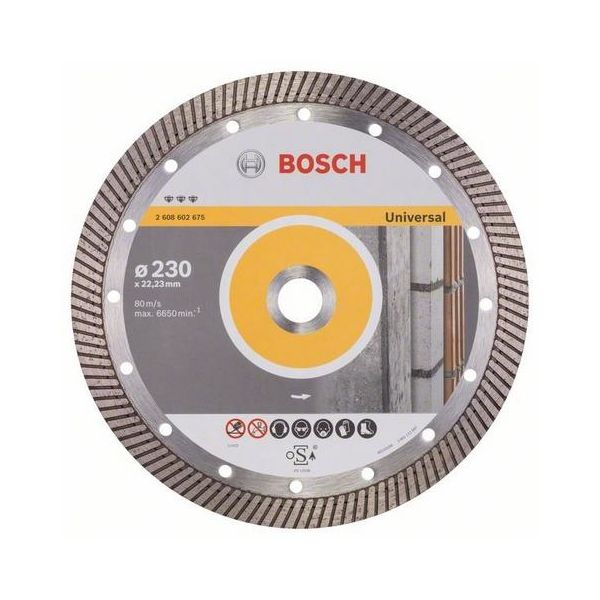 Bosch Best for Universal Turbo Diamantkappskive 230x22,23mm