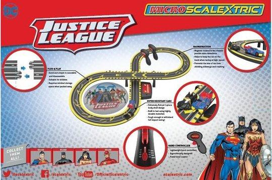Scalextric Micro Racerbane Justice League