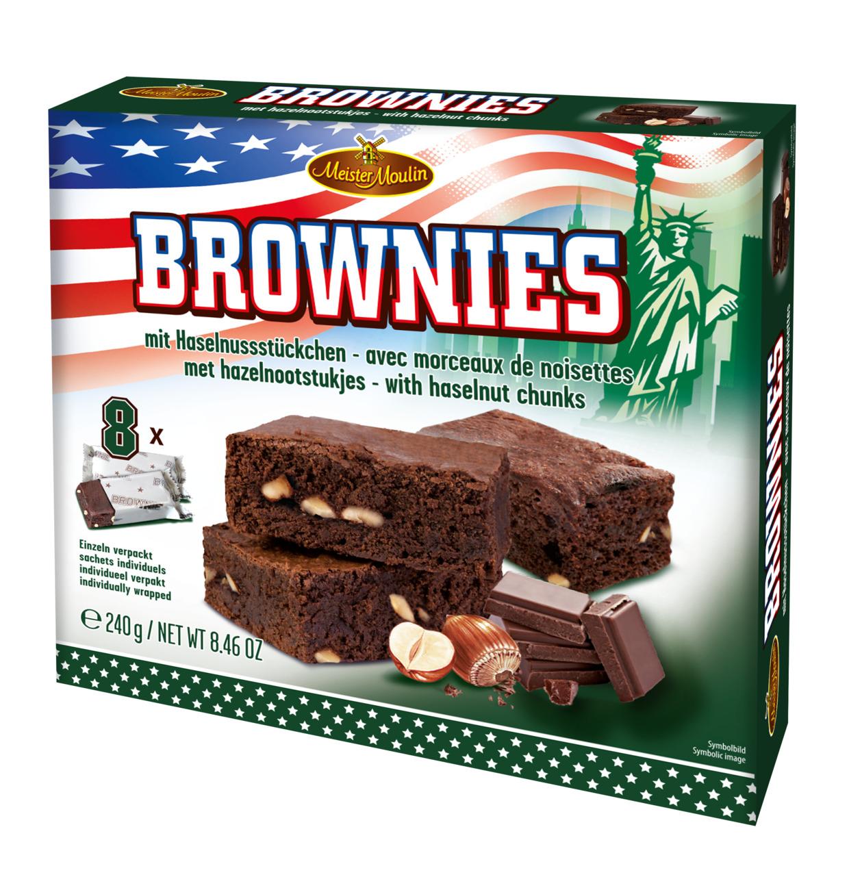 Meister Moulin Hazelnut Brownies 240g