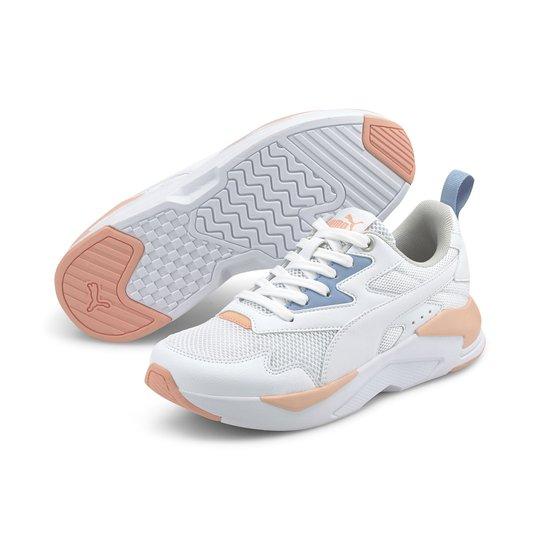 Puma X-Ray Lite Jr Sneaker, White, 36