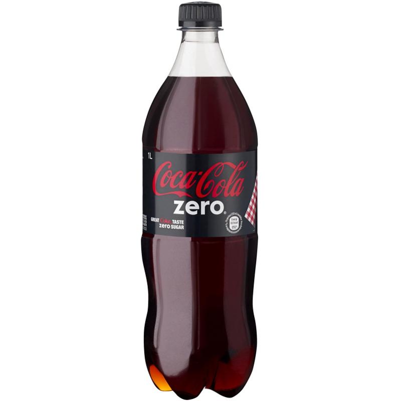 """Coca-Cola """"Zero"""" 1l - 33% rabatt"""