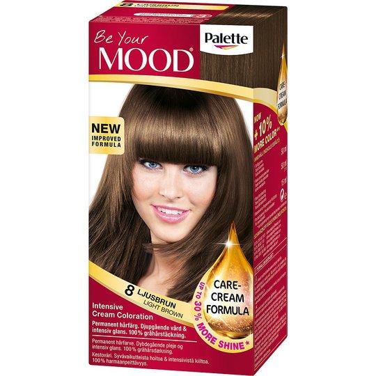 Mood Haircolor 08 Light Brown, MOOD Hiusvärit