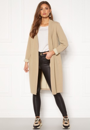 Happy Holly Stefanie tricot coat Beige 36/38