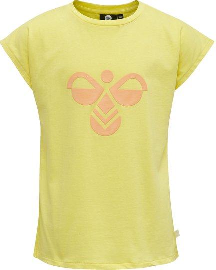 Hummel Sunshine T-shirt, Limelight, 110