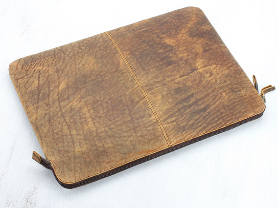 Leather Laptop Case 15 Inch