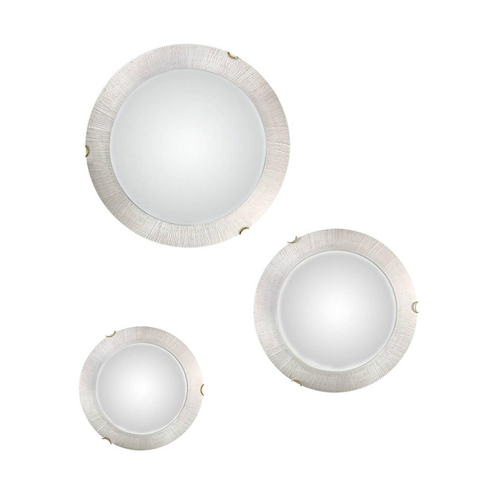 Seinävalaisin Moon Sun, valkoinen, Ø 30 cm