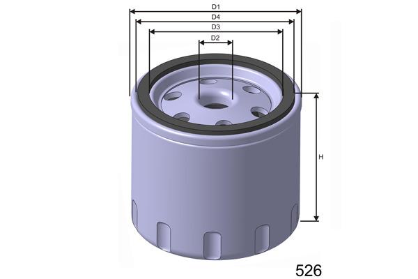 Öljynsuodatin MISFAT ZM139