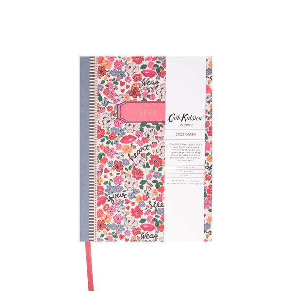 Hearts Ditsy Floral 2022 Diary A5
